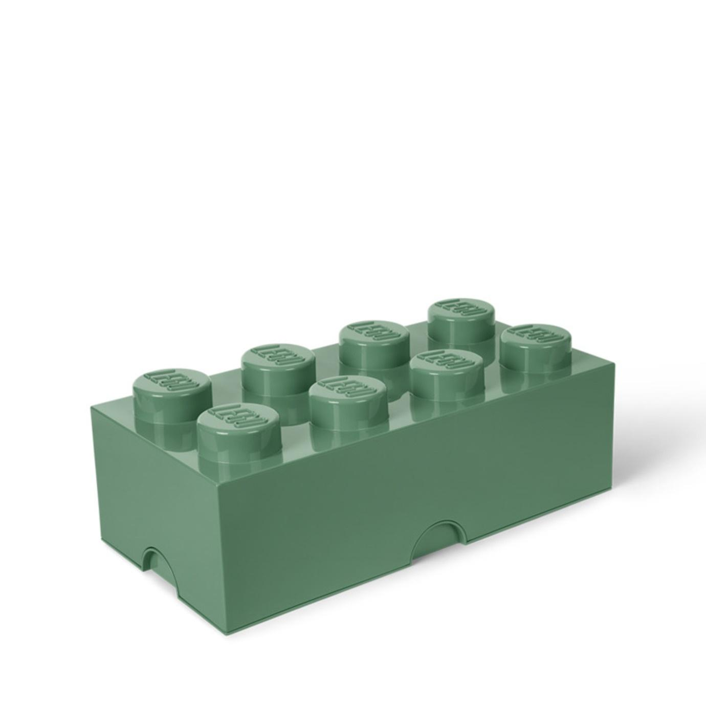 LEGO Storage Brick 8 (Sand Green)