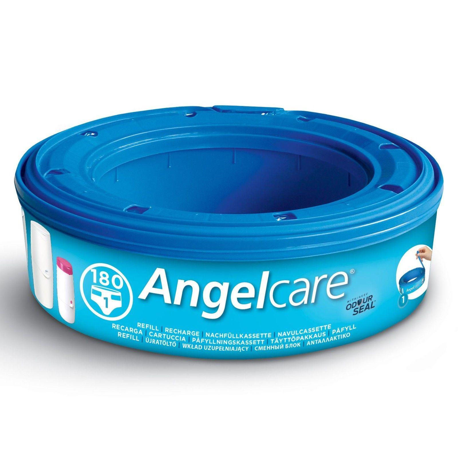 Angelcare Nappy Disposal System Refill Cassettes Wrappers Bags Sacks 1 Pc By Sterne Mond Co.