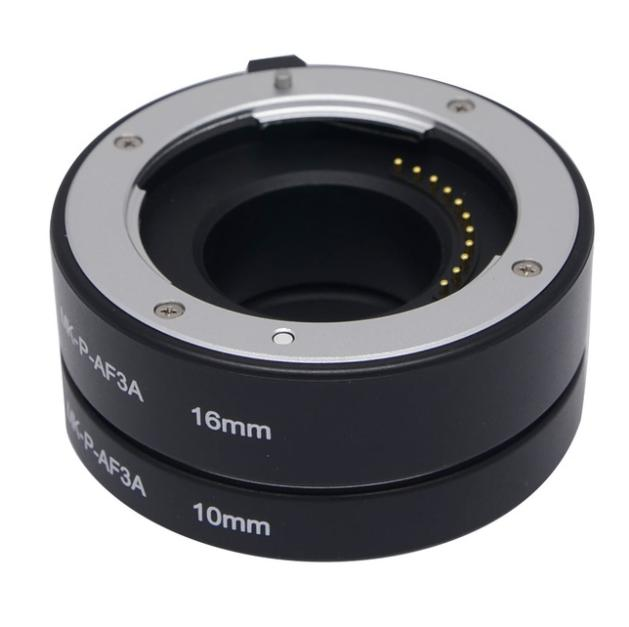 Sale Meike P Af3 A Metal Auto Focus Automatic Macro Extension Tube For Panasonic Olympus Micro 4 3 System Camera Meike On Singapore