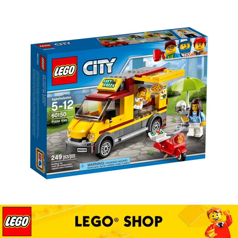 Get Cheap Lego® City Great Vehicles Pizza Van 60150