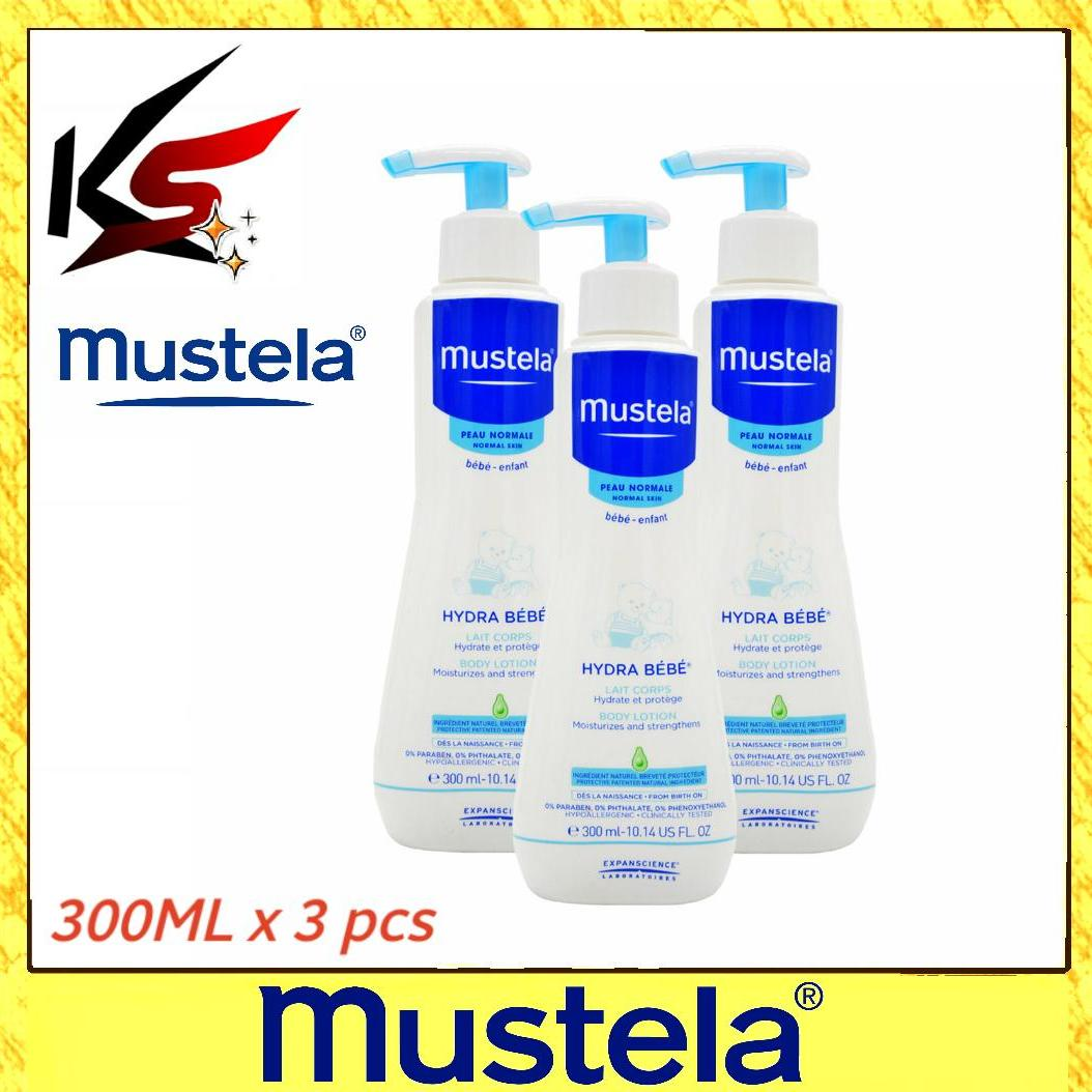 How To Get Mustela Hydra Bebe Body Lotion 300Ml X 3 Pcs
