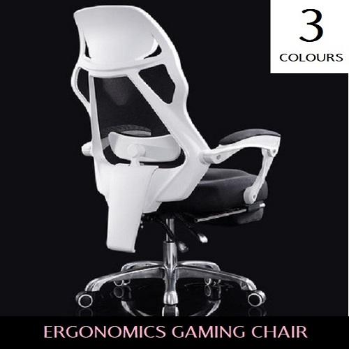 Gaming Chair - With Foot Rest !