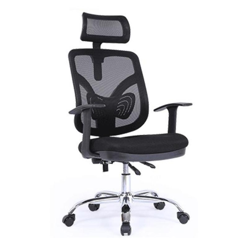 J30 Office Chair (Black)(Self Setup) Singapore