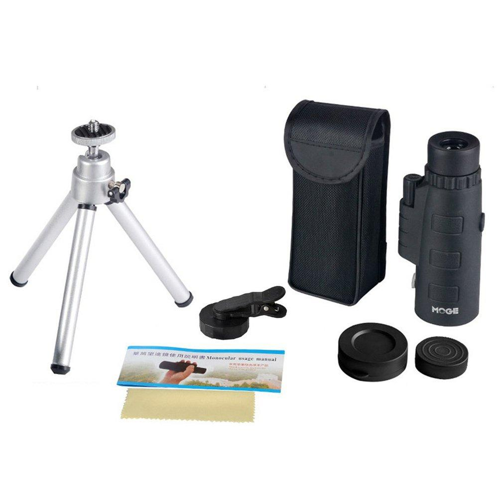 Top Sell 50X60 Zoom Monocular Optical HD Lens Telescope With Tripod & Mobile Phone Clip