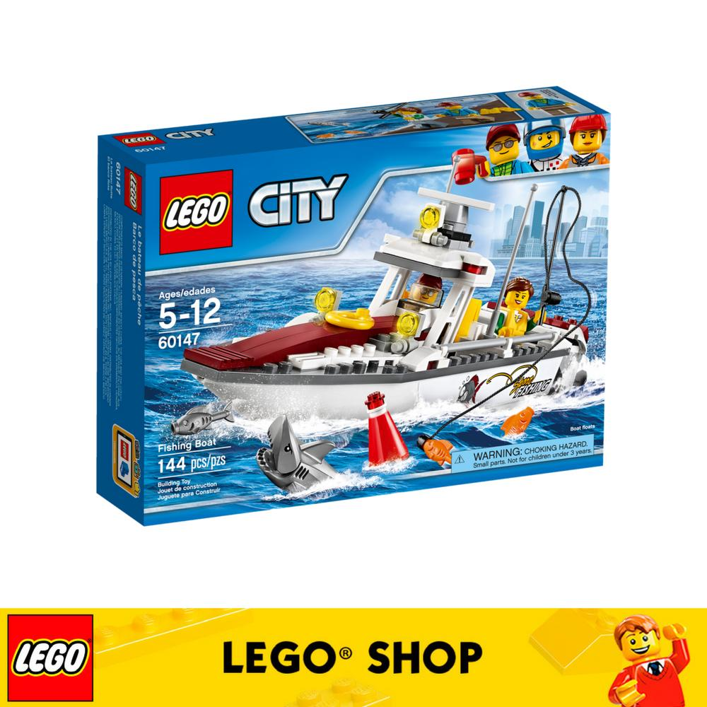 Price Lego® Lego City Fishing Boat 60147 Lego Online
