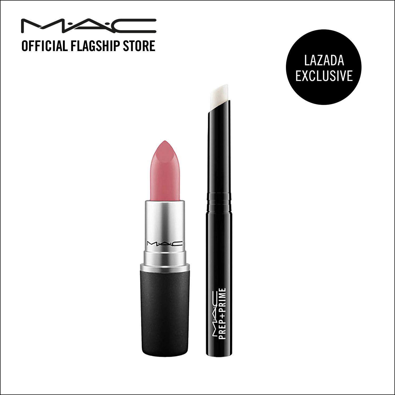 Sale Mac Matte Lipstick Mehr Mac Prep Prime Lip Exclusive Singapore Cheap