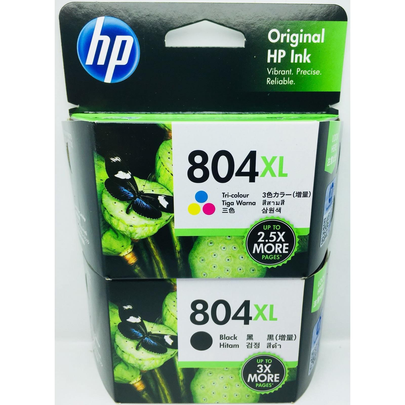 Sale Hp 804Xl Combo Pack Black 600 Pages Colour 415 Pages Hp
