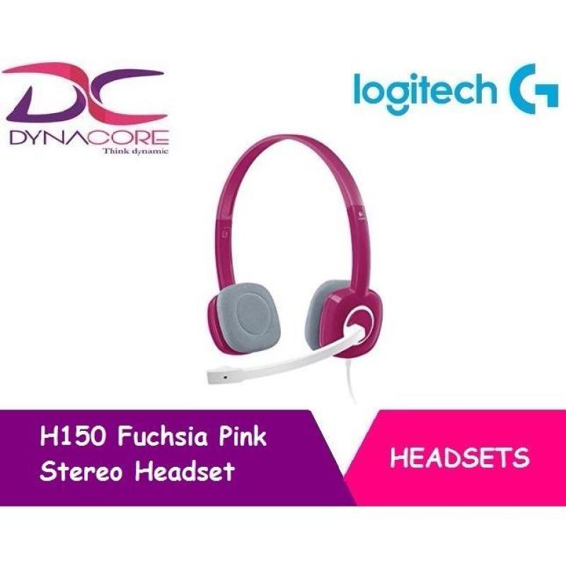 Logitech Stereo Headset H150 - Fuchsia Pink (Pink) Singapore