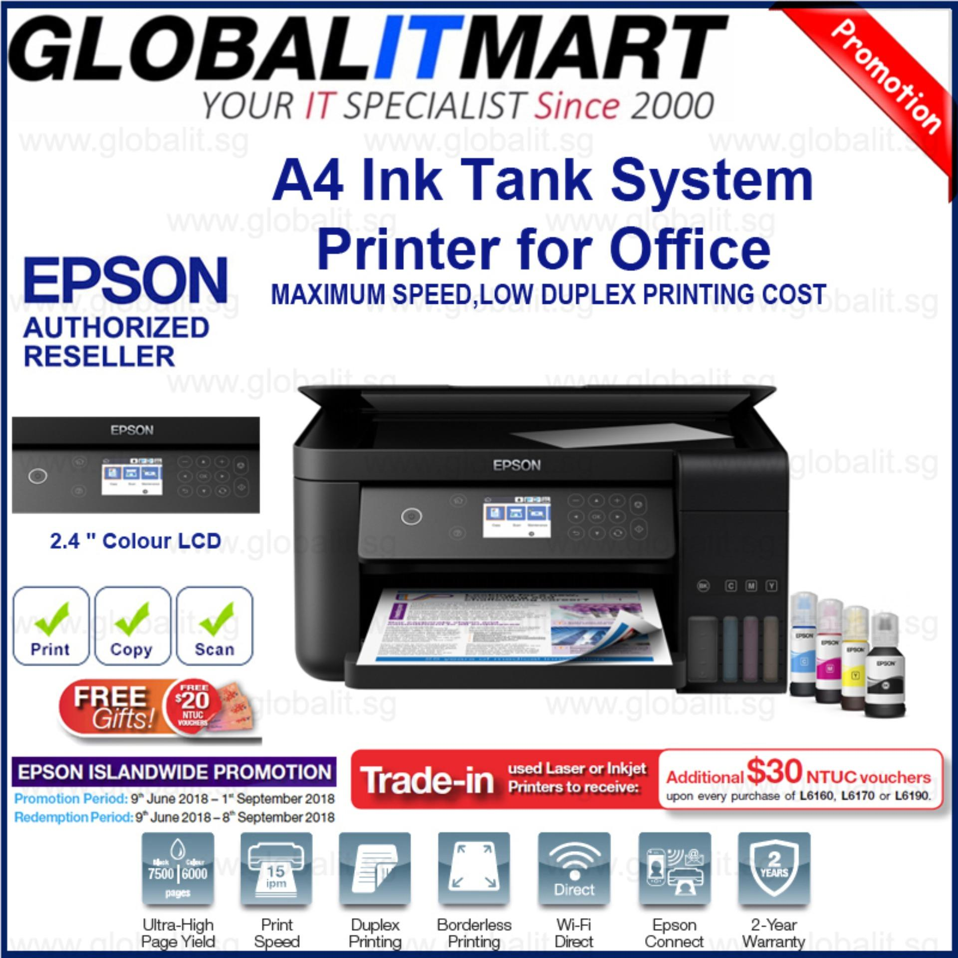Get The Best Price For Epson L6160 Wi Fi Duplex All In One Ink Tank Printer
