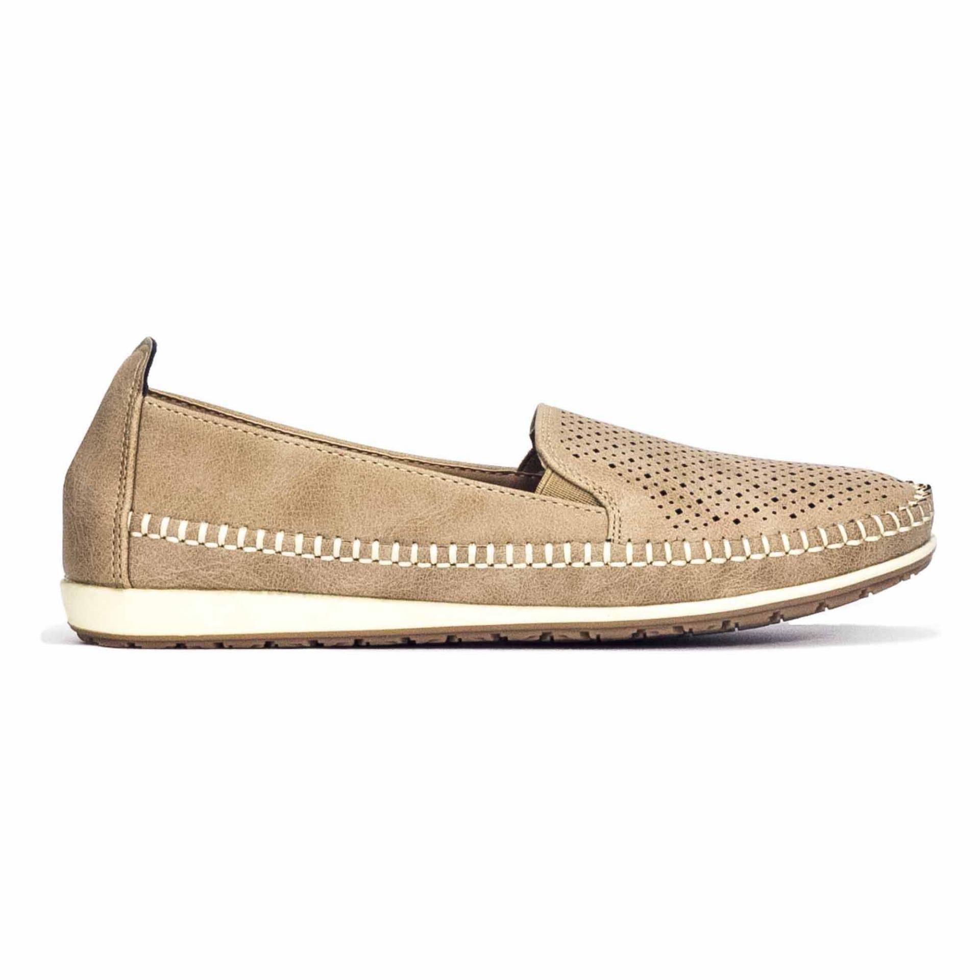 Buy Bata Ladies Slip On Sand 5518106
