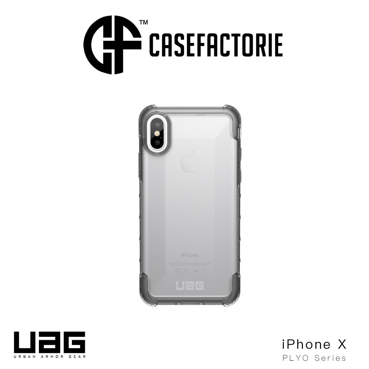 Retail Uag Plyo Case For Apple Iphone X