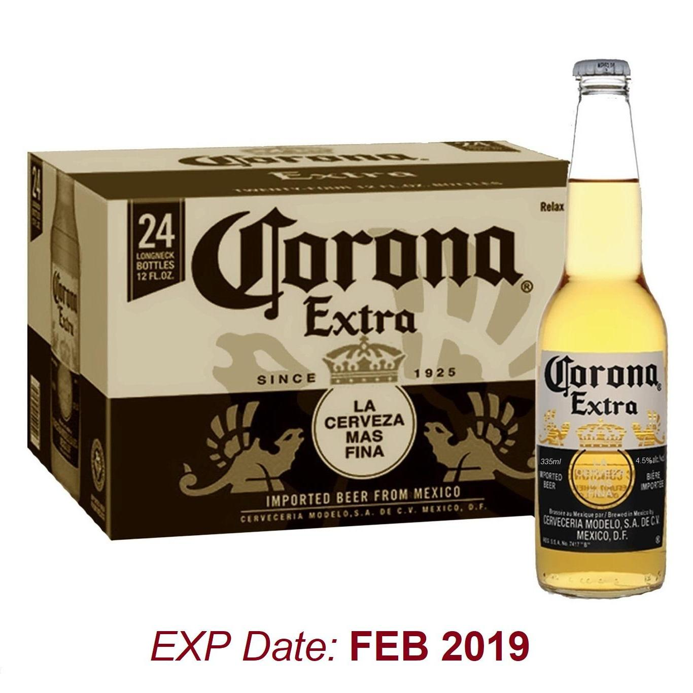 Best Deal Corona Extra Pint 24 X 355Ml Bbd Feb 19
