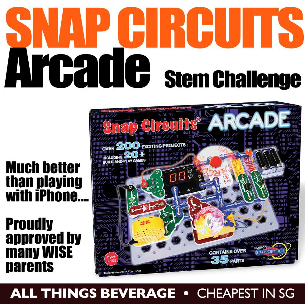 Snap Circuits Buy At Best Price In Singapore Www Kit Arcade Electronics Discovery Stem Challenge