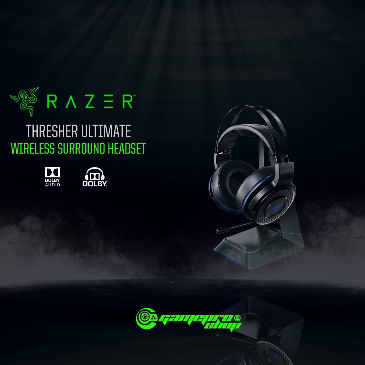 Compare Price Razer Thresher Ultimate Playstation 4 Ps4 Wireless Gaming Headset Gss Promo On Singapore