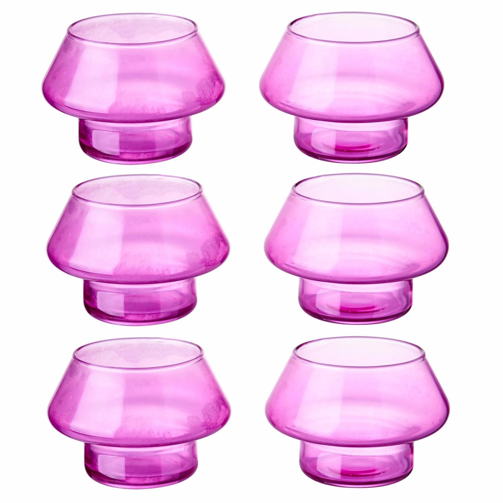 Lamparina Candleholder (Pink) (6pc)
