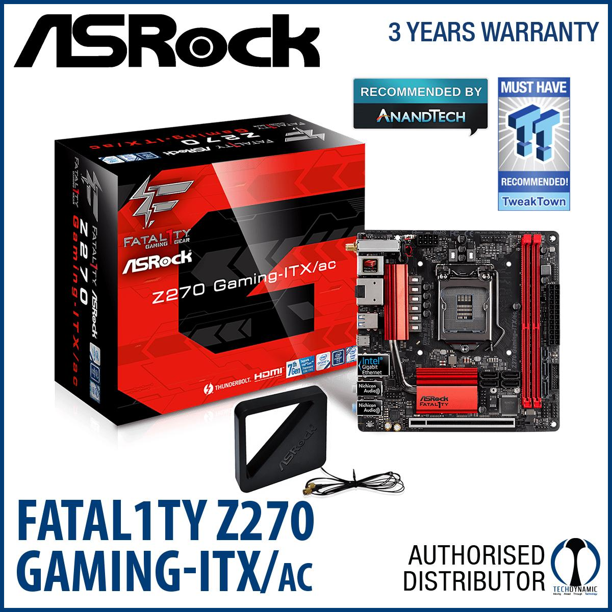 Cheapest Asrock Fatal1Ty Z270 Gaming Itx Ac