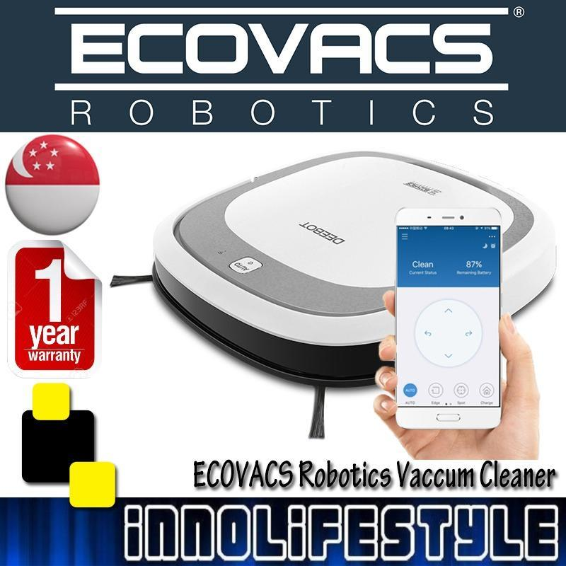 EcoVacs DeeBot Slim 2 Smart Robotic Vacuum Cleaner w/ Dry Mopping Singapore