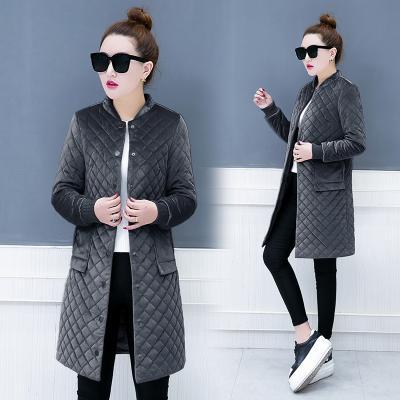 Jaket Jaket Katun Wanita Bagian Panjang Pakaian Katun Korea Fashion Style Bulu Angsa