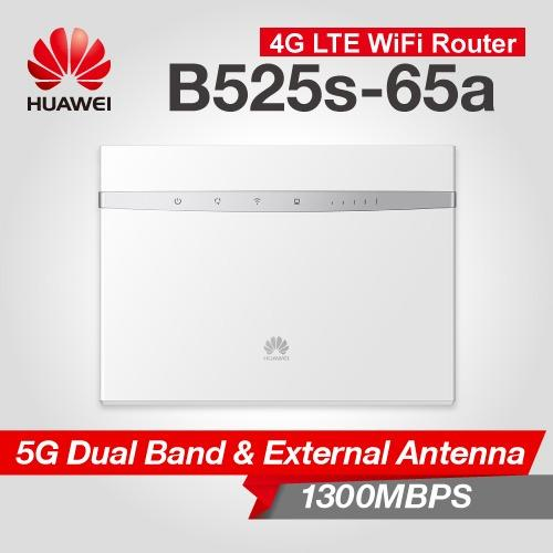 Price Comparisons Huawei B525 4G Lte Sim Card Ac 1600 Router White Dual Band 300Mbps 1300Mbps