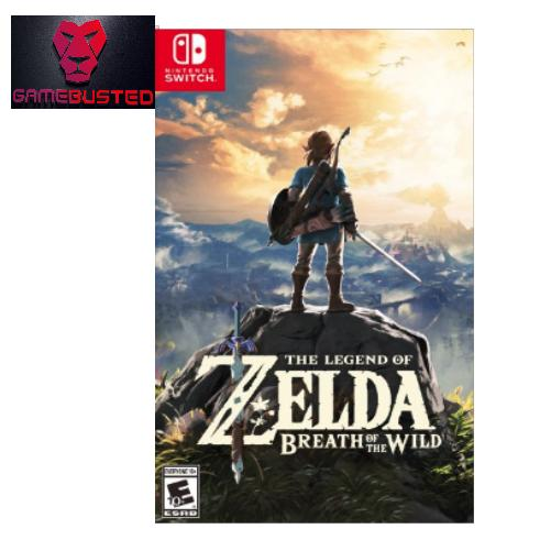 Lowest Price Nintendo Switch The Legend Of Zelda Breath Of Wild U S