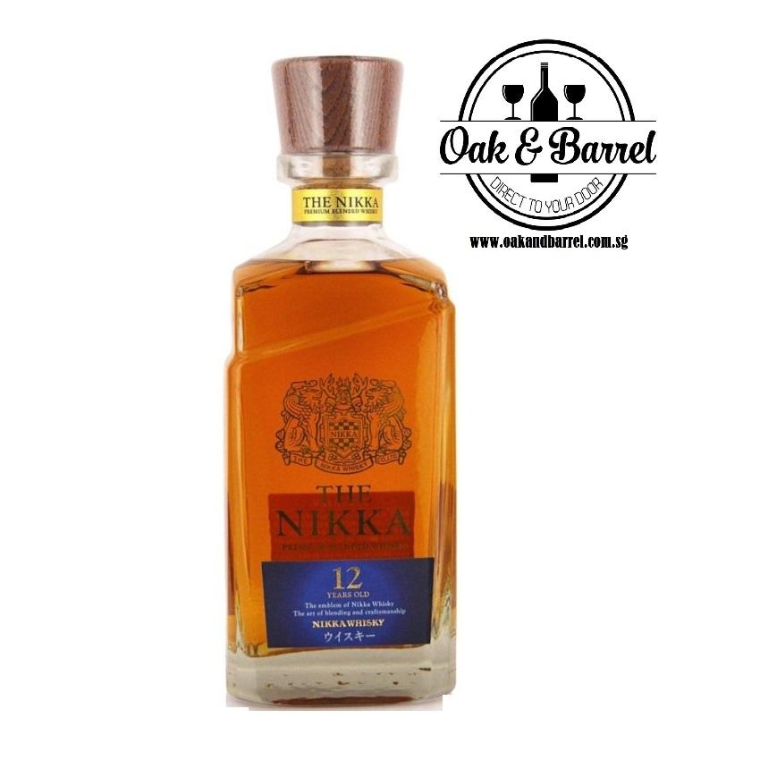 Top Rated The Nikka 12 Years Old Premium Blended Whisky 700Ml