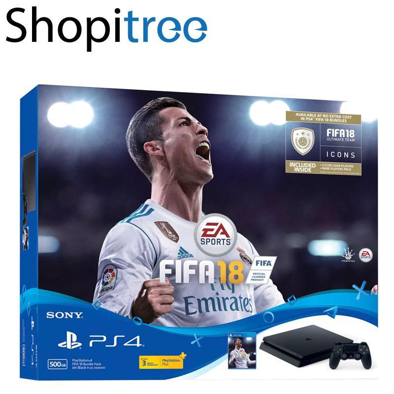 Ps4 Slim 500Gb Console Fifa 18 Bundle Shopping