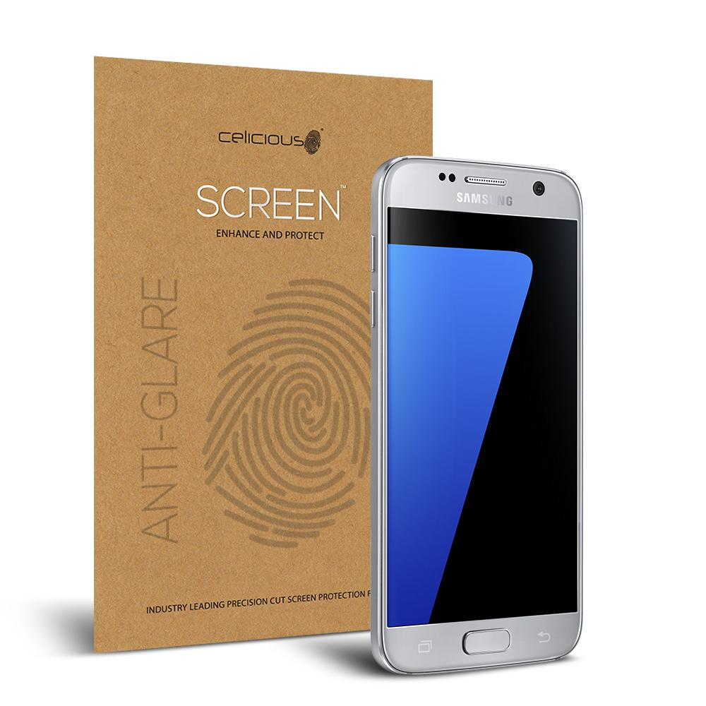 Buy Celicious Matte Samsung Galaxy S7 Anti Glare Screen Protector Pack Of 2 Cheap On United Kingdom