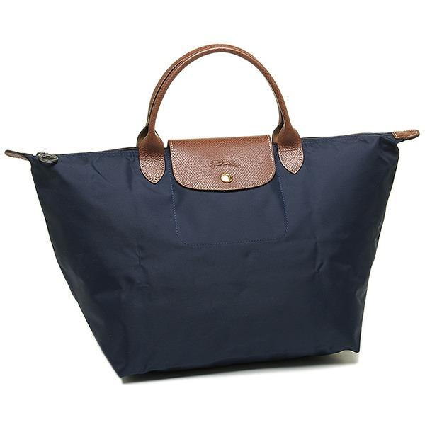 Sale Longchamp 1623 Le Pliage Nylon Medium Navy Blue Online On Singapore