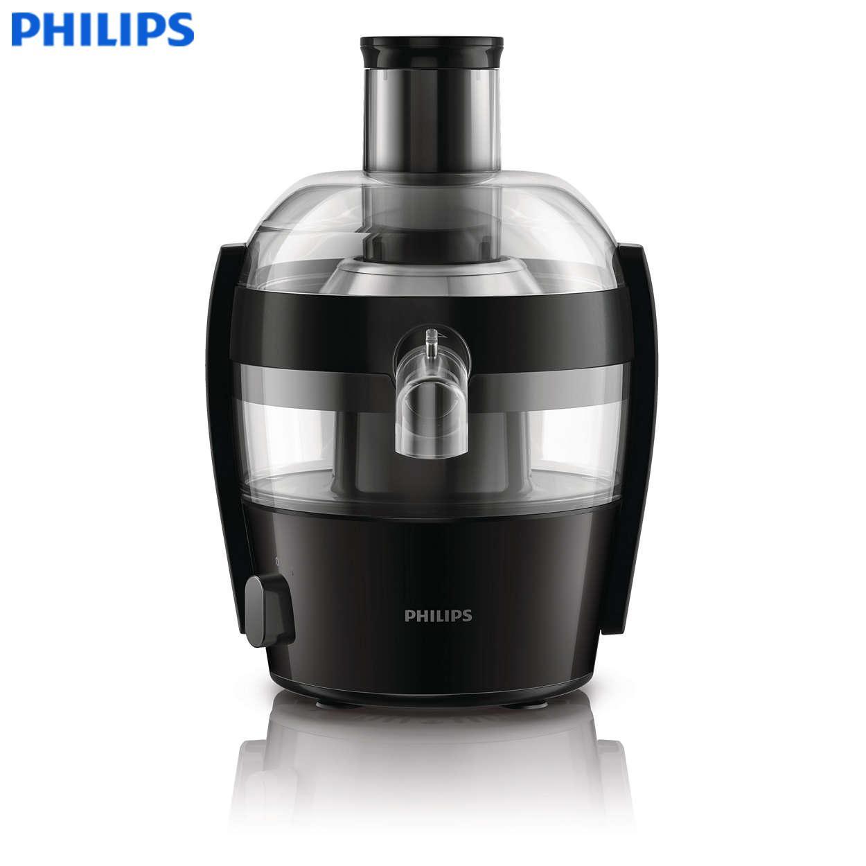 New Philips Viva Collection Juicer Hr1832 Black