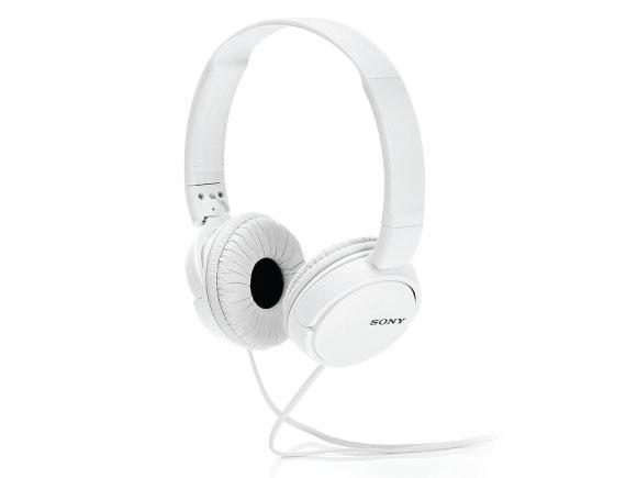 Headphone-Zone-Sony ZX110- - Tangle Free Serated Cabling