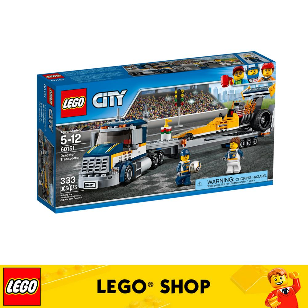 Price Comparisons Of Lego® Lego City Dragster Transporter 60151
