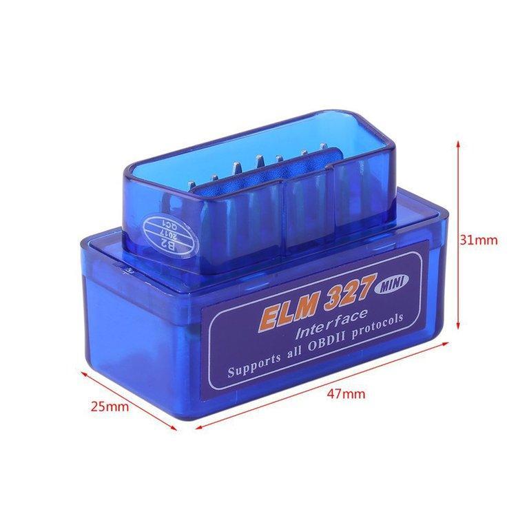 2EST Mini ELM327 OBD2 II Bluetooth Car Diagnostic Tool Portable Auto Scanner 8