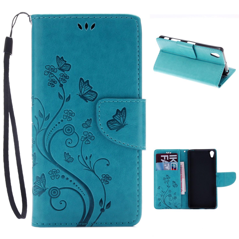 RYMALL For Asus Zenfone 3 ZE552KL Wallet Case Magnetic Casing Card Slot PU .