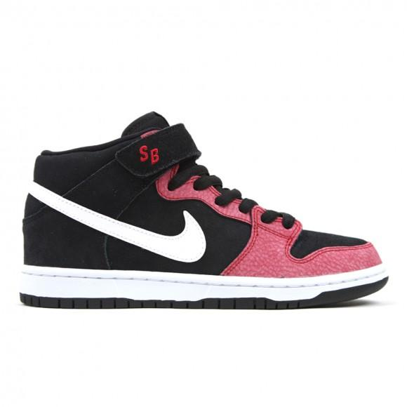 Sale Nike Sb Dunk Mid Black White Gym Red Nike Branded