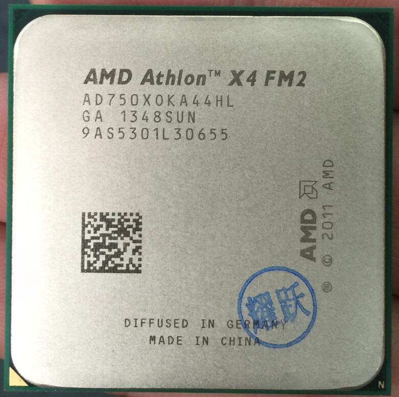 AMD Athlon X4 750X750 750X FM2 CPU Quad-Core 100% Bekerja dengan Baik Desktop Prosesor-Intl