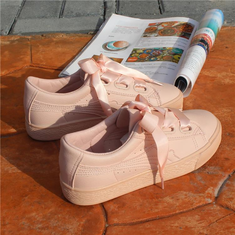 Versatile Ribbon Summer Female Canvas Shoes Sneakers For Sale Online