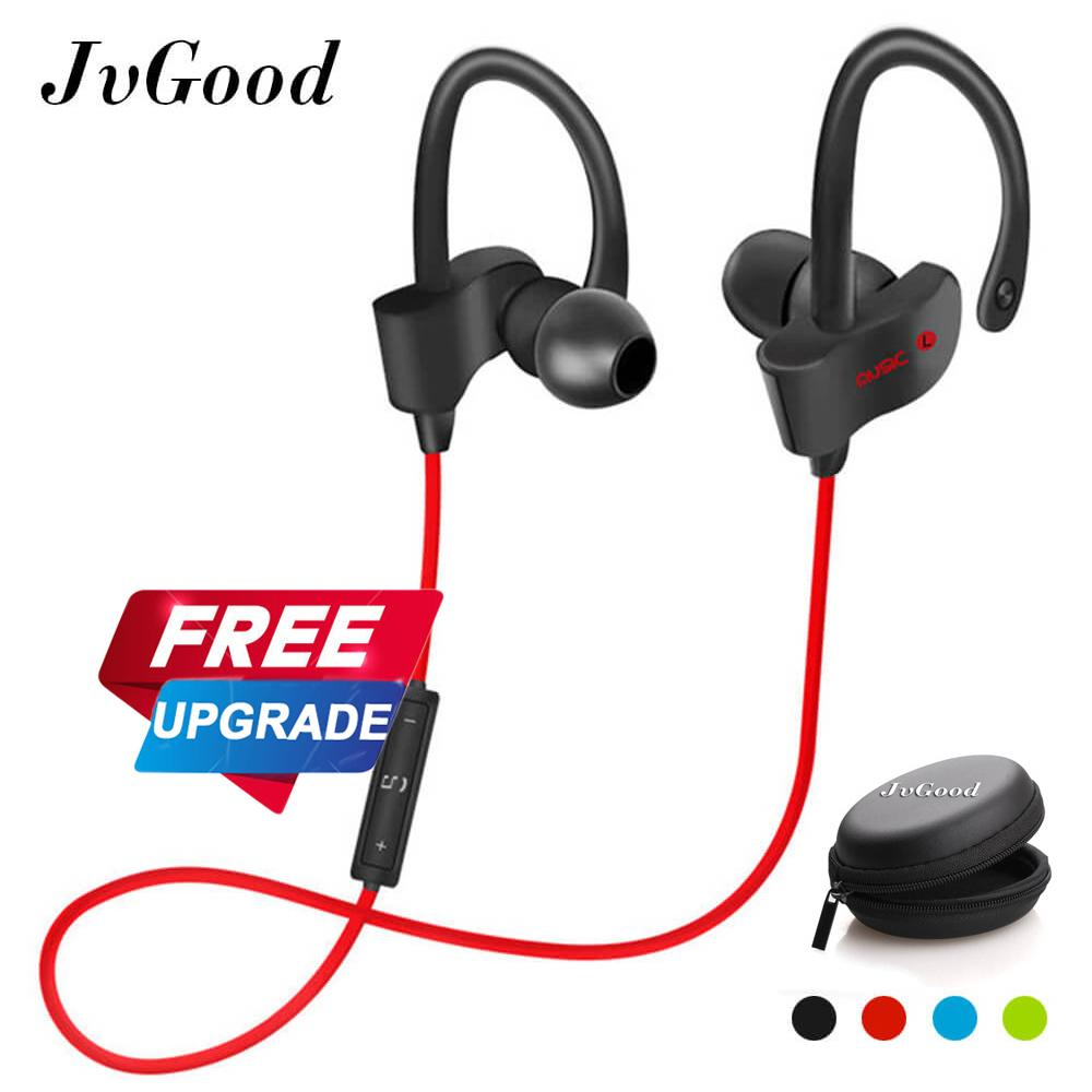 Get Cheap Jvgood Bluetooth Headphones Wireless Sports Earphones W Mic Hd Stereo Sweatproof Earbuds Gym Running Workout Noise Cancelling Headsets Intl