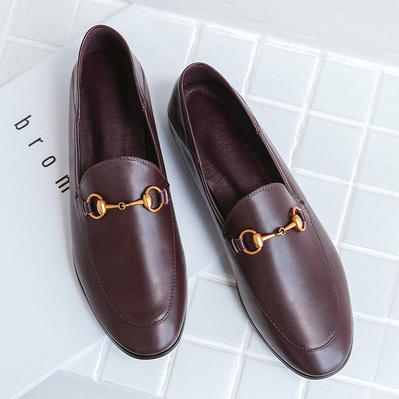 Loafers England Spring And Autumn New Style Horse Vintage Small Leather Shoes Other Discount