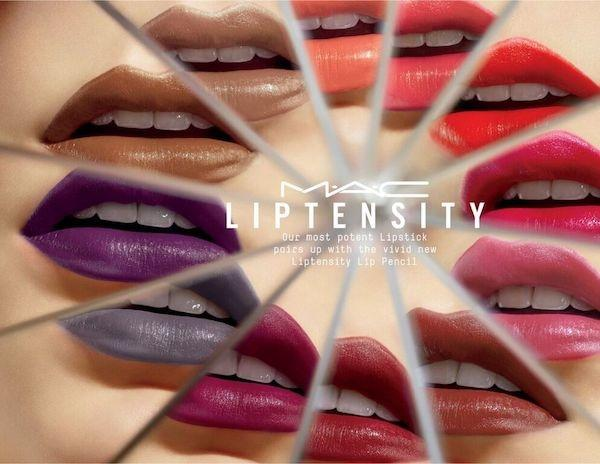 Image result for M.A.C Liptensity lipstick banner