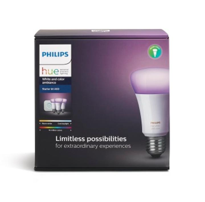 Who Sells The Cheapest Philips Hue White And Color Ambiance 3Rd Gen Starter Kit A60 Online
