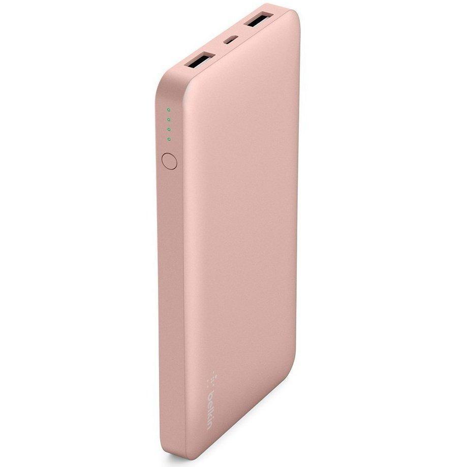 Buy Belkin Pocket Power 10000Mah Rose Gold Slim Power Bank Portable Charger Belkin Cheap