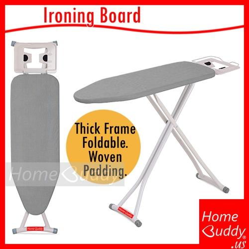 Discount Ironing Board Thick Frame Foldable Height Adjustable 10 000 Sold Ready Stocks Sg Reach You 3 To 5Work Days Homebuddy Acev Pacific Homebuddy