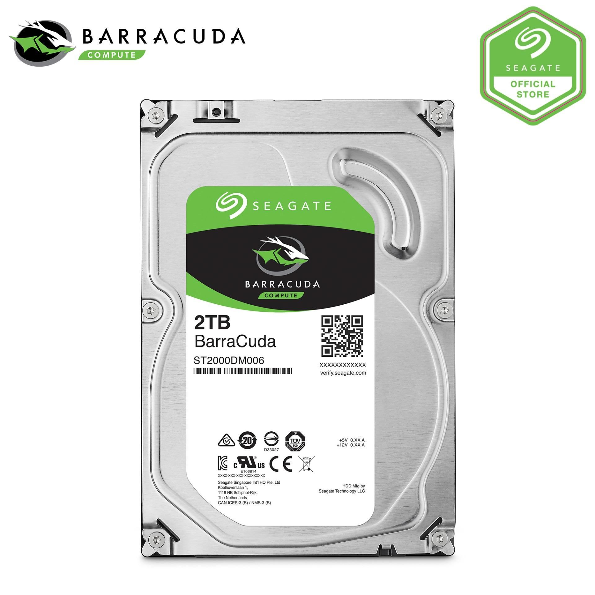 Buy Seagate Barracuda 3 5 2Tb Desktop Hard Disk On Singapore