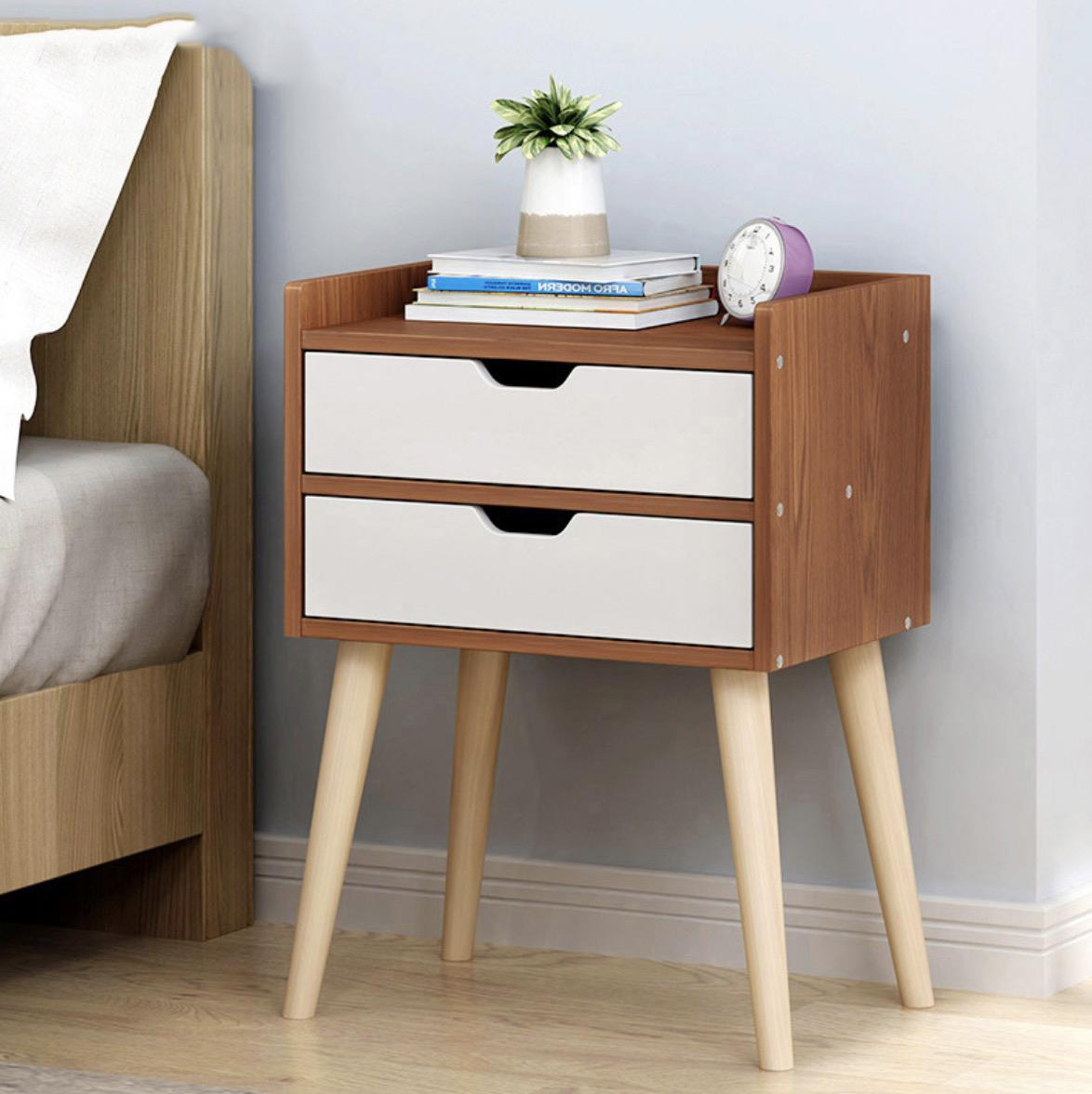 Veneto Bedside Table Ver 2. (Free Installation)