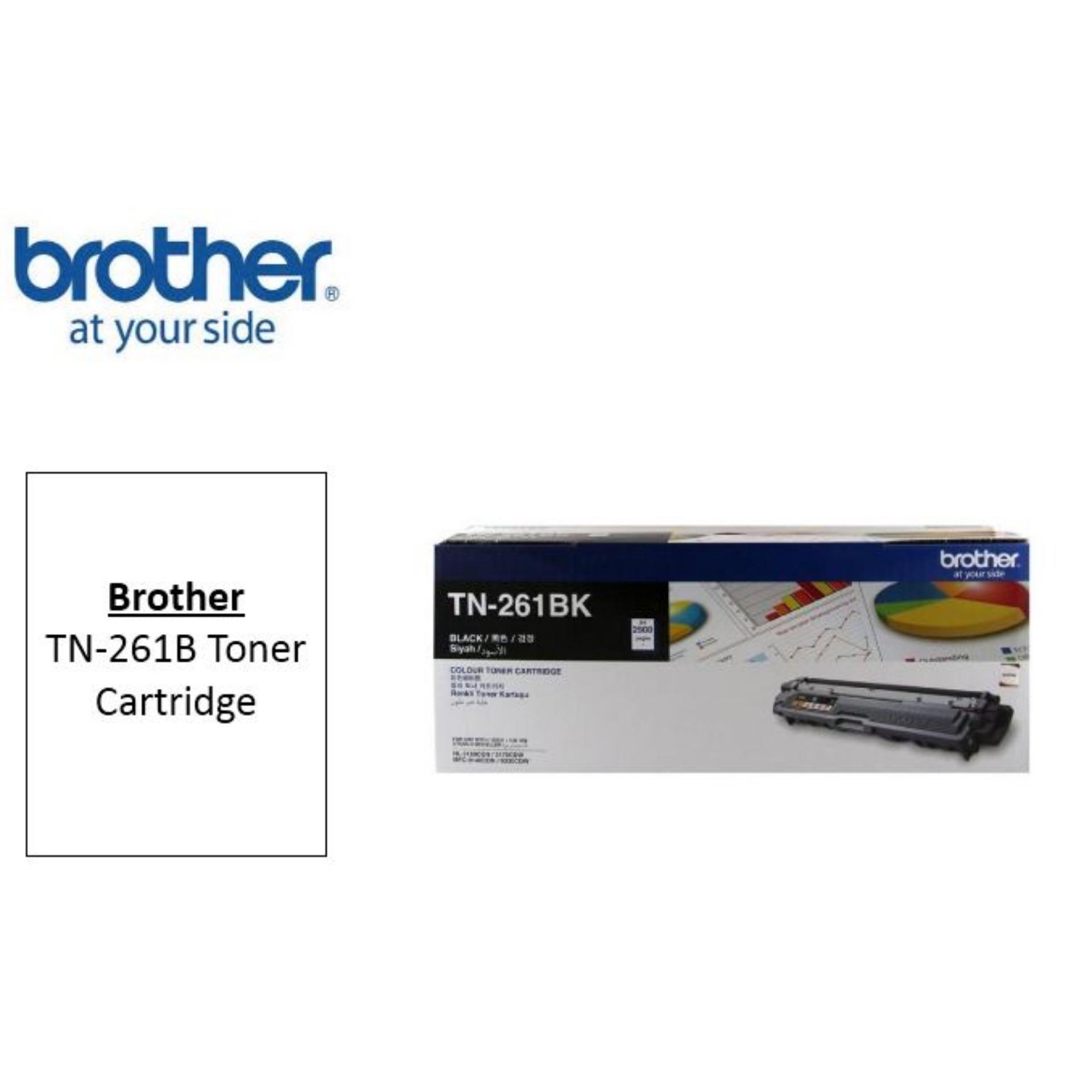 Brother Tn 261 Original Black Toner Cartridge Tn261 Tn 261 Hl 3150Cdn Hl 3170Cdw Mfc 9140Cdn Mfc 9330Cdw Online
