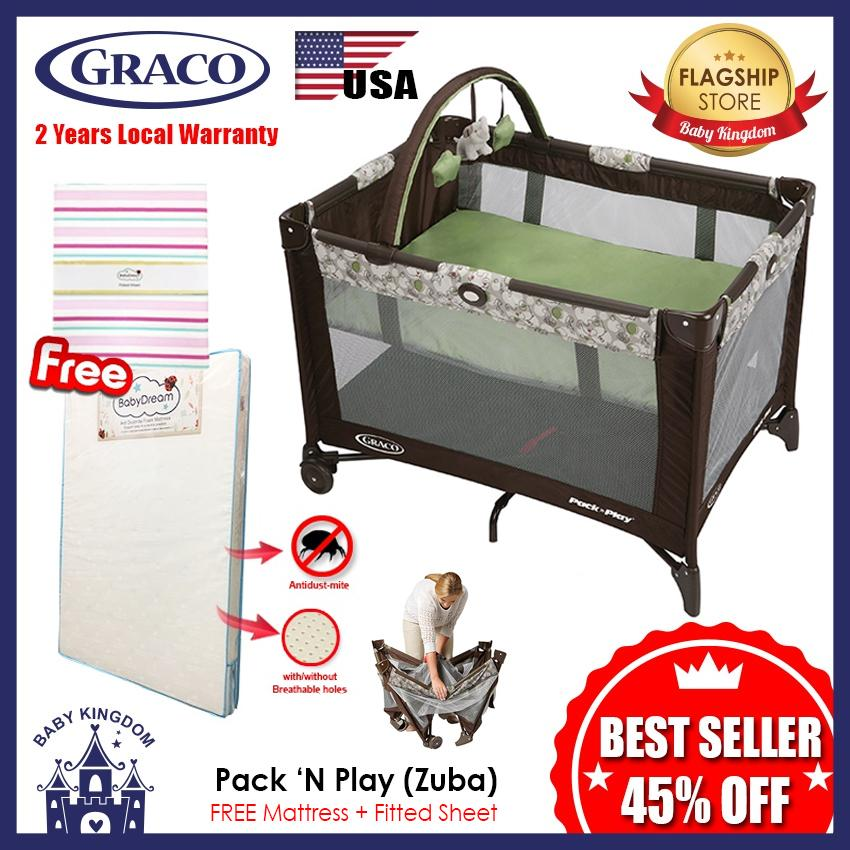 How To Get Graco Pack N Play Playard Free Mattress And Fitted Sheet