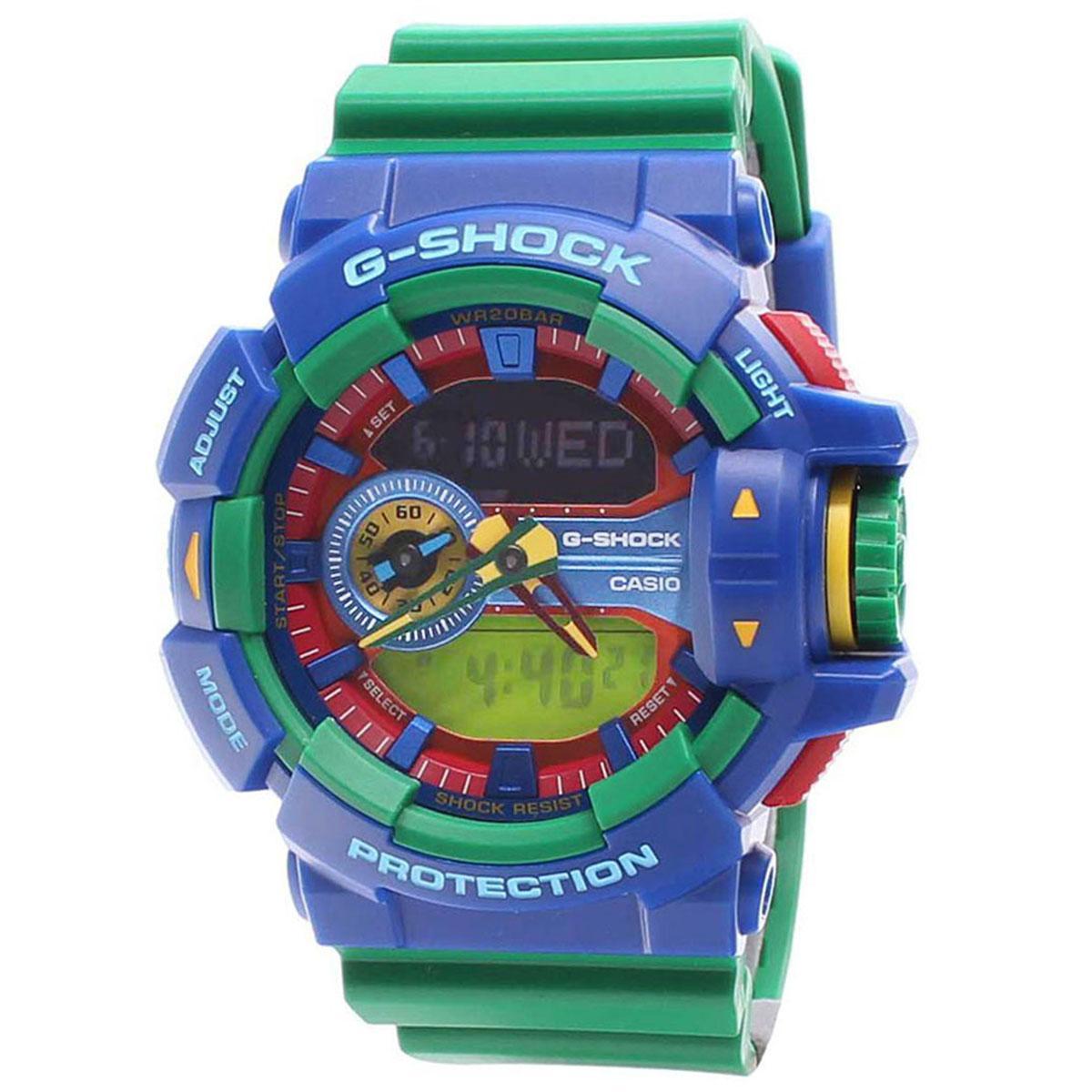 Casio Watch G Shock Green Resin Case Resin Strap Mens Ga 400 2A Shopping
