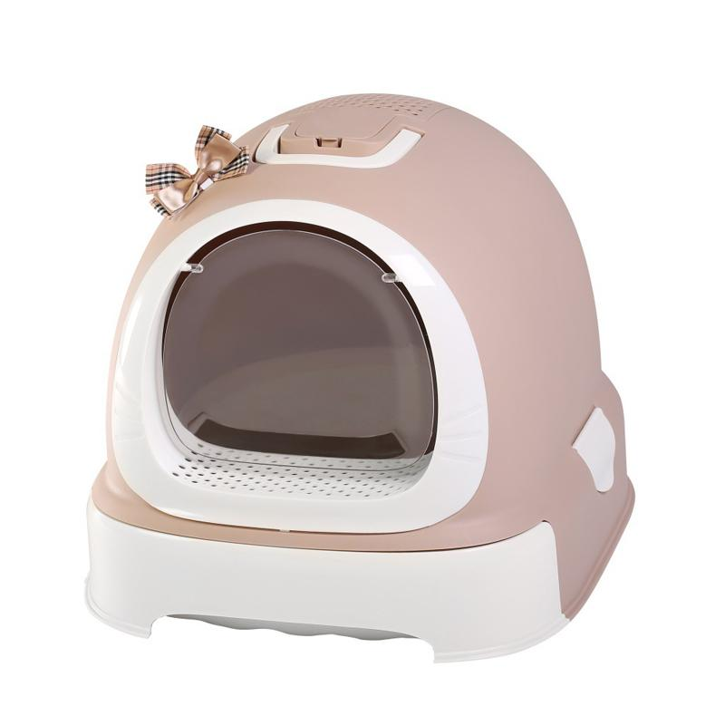 Large Size Closed Cat Litter Box Sale