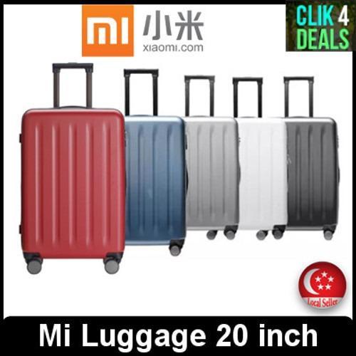 Imported Original Xiaomi Luggage 20 Inch Blue Grey Black White Red Xiaomi Discount