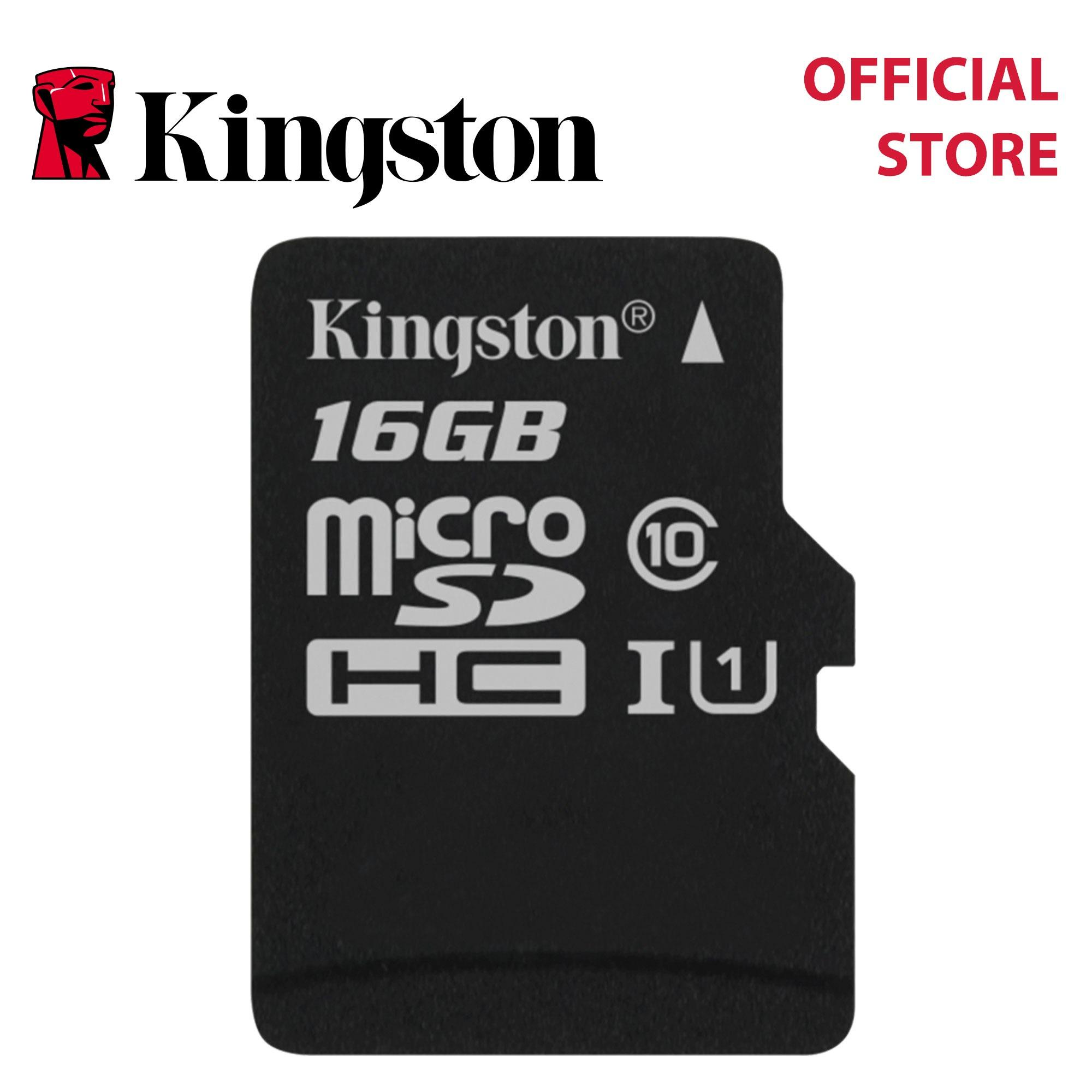 Sale Kingston Canvas Select Class 10 Uhs I Microsdhc Sdxc Memory Card Sd Adapter Sdcs Kingston On Singapore